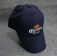 Remember the Lime! Corona Extra Ball Cap Hat Crown Beer Navy Yellow Acme Cotton NEW  #Coronabeer #beerballcaps