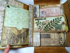 Botanical-Themed Collection Folio. So much fun to make one of these!