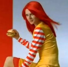 like the ronald clown wasn't scary enough...this just seems very wrong now