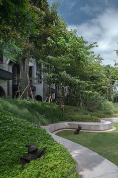 Labaris酒店景观设计,考艾 / Shma - 谷德设计网 Landscape Design, Sidewalk, Outdoor, Outdoors, Landscape Designs, Side Walkway, Walkway, Outdoor Games, The Great Outdoors