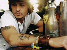 Johnny Depp There's just something about him that I absolutely adore:) #FavoriteActor