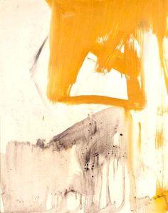 Franz Kline, yellow