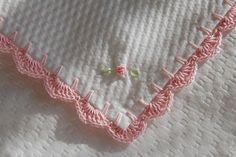 Pattern For Crochet Edging On Fleece Blanket – Easy Crochet Patterns Crochet Blanket Edging, Crochet Motifs, Crochet Borders, Crochet Trim, Love Crochet, Easy Crochet, Crochet Stitches, Crochet Patterns, Sewing Patterns