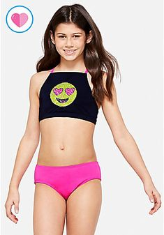 Young Girl Fashion, Kids Fashion, Justice Swimsuits, Sequin Outfit, Sequin Bikini, Sequin Leggings, Girls One Piece Swimsuit, Kids Swimwear, Girls Shopping