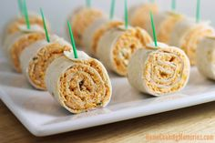 Buffalo Chicken Tortilla Pinwheels + #Anolon Cookware Giveaway for #AppetizerWeek - Home Cooking Memories