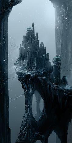Imaginative concept art byAsim Steckel.   CINEMA/GORGEOUS