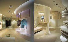 We are a global and creative design studio in Geneva, Tokyo and Beijing. Japan Interior, Retail Facade, Beige Curtains, Interior Architecture, Interior Design, Beige Sofa, Partition, Small Sofa, Aesthetic Design