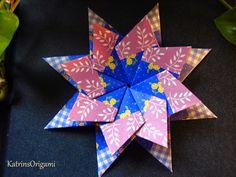 Origami die Kunst des Papierfaltens: Sterne