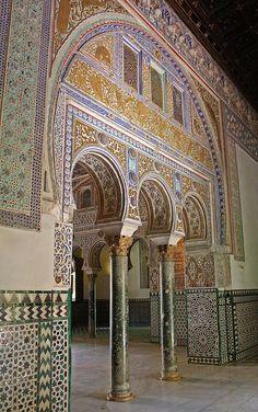 Real Alcazar, Sevill lovely art