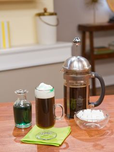 Irish Coffee recipe from Geoffrey Zakarian via Food Network