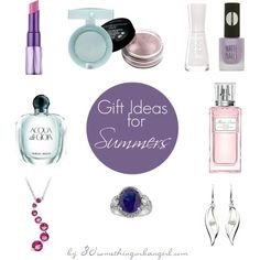 Gift ideas for Summers under $50 by thirtysomethingurbangirl on Polyvore featuring CO, Icz Stonez, Bourjois, Urban Decay, Giorgio Armani, Topshop, Christian Dior, beautytips, Summer and Easter