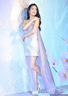 Taiwanese actress Ariel Lin  http://www.chinaentertainmentnews.com/2015/10/ariel-lin-at-promo-event.html