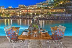 Santa Marina Resort & Villas: luxury collection hotel & villas on Mykonos Island Mykonos Luxury Hotels, Mykonos Villas, Mykonos Town, Mykonos Greece, Ornos Beach, Santa Marina, Myconos, Marina Resort, Luxury Collection Hotels