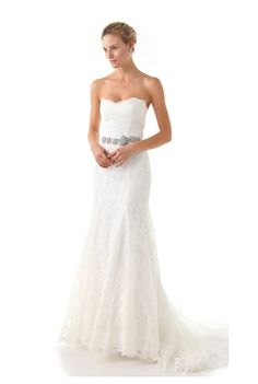 Love, Yu Lace White Gown