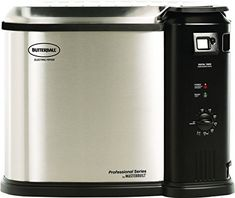 Fry, steam, or boil your favorite foods with the Butterball XL electric fryer by Masterbuilt. The fryer uses 1/3 less oil than traditional fryers & is designed & tested to commercial standards. The extra-large basket accommodates to a 20 lb. Turkey, 5 lbs. Of chicken wings, or a large... more details available at https://www.kitchen-dining.com/blog/grills-outdoor-cooking/outdoor-fryers-smokers/product-review-for-butterball-mb23010618-xl-electric-fryer/