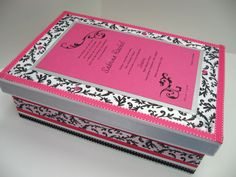 Bar/ Bat Mitzvah Keepsake Box 3 by RibbonMade on Etsy