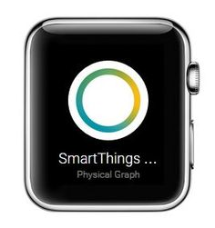 SmartThings applewatch app for smart home interaction