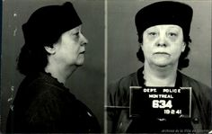 Mugshots - Prostitutes of Montreal