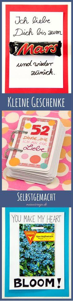 Kleine Geschenke selbstgemacht - einfach & schnell für kleine Freuden zwischendurch *** Little DIY presents - for every occasion