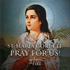 PRAYERGRAPHIC - St Maria Goretti