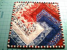 Spiral Quilt Block