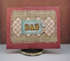 DCWV The Guy Stack, father's day card