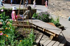 Outdoor classroom - design that starts with narrative