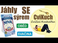 Jáhly se sýrem - CviKuch | DancaVideo.com - YouTube Snack Recipes, Snacks, Pop Tarts, Youtube, Fitness, Food, Weights, Health, Snack Mix Recipes