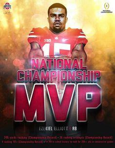 """Ezekiel """" Zeke """" Elliott #15 Ohio State Football ..."""