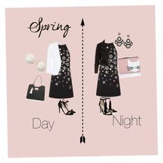"""Spring: Day to Night"" by emmatraynor on Polyvore featuring Victoria, Victoria Beckham, MaxMara, STELLA McCARTNEY, Kate Spade and Karl Lagerfeld"