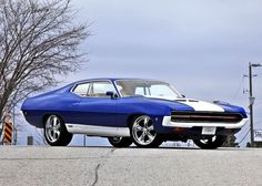 1970 Ford Torino Custom. Awesome American Muscle!