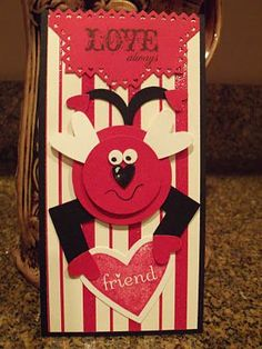 Love Bug Punch Art Stampin' UP! SU