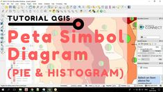 14 best mari spasialkan youtube channel tutorial webgis sig tutorial qgis cara membuat peta simbol diagram lingkaranpie histogram ccuart Images