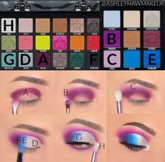 Doll Eye Makeup, Makeup Eye Looks, Eye Makeup Steps, Beautiful Eye Makeup, Eyeshadow Makeup, Makeup Cosmetics, Eyeshadows, Makeup Looks Tutorial, Doll Makeup Tutorial