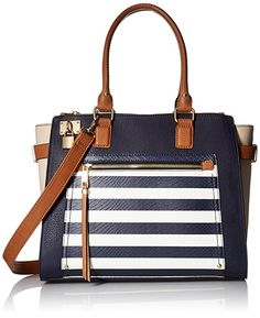 28689919818 Aldo Hutcheon Top Handle Handbag  Medium tote with padlock and zipper  puller detail