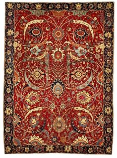 selling for $33.8 million, the so-called Clark sickle leaf carpet. One of 25 Middle Eastern and Asian carpets  sold by Sotheby's in 2013 from the collection of the Corcoran Gallery of Art. From Huguette Clark's childhood home.