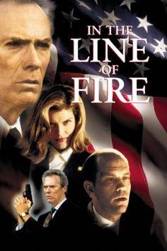 In The Line Of Fire: Clint Eastwood, Rene Russo, John Malkovich, Dylan McDermott: