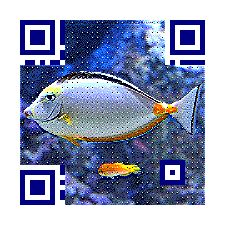 Amazing! FREE to generate Picture QR Code at www.meftc.com now! #qr #qrcode #fish #design #marketing