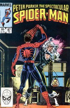 Peter Parker, The Spectacular Spider-Man #87 in Mistaken Identities by Al Milgrom