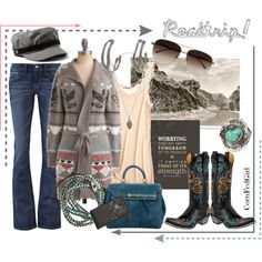 Who's up for a ROADTRIP?, created by cornfedgirl.polyvore.com