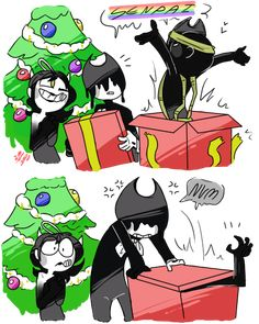 {Surprised present for Bendy}#3 by BendyTheDevil-Pop
