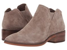 Dolce Vita Tay Taupe Suede Bootie - Holly & Brooks