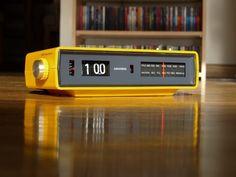 Grundig Flip Clock Radio Copal Eames Danish Howard EZ