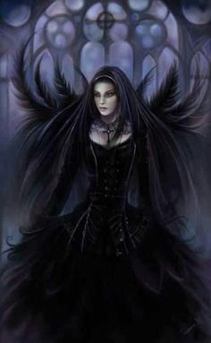 Dark fallen angel
