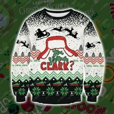 Chic Christmas Vacation Griswold 3D Print Ugly Christmas Sweater S-5XL Unisex mens ugly christmas sweater from top store Mens Ugly Christmas Sweater, Funny Christmas Sweaters, Ugly Sweater, Christmas Vacation, Unisex, Printed Sweatshirts, Being Ugly, Wool Blend, 3d Printing