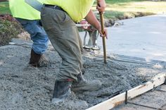 Calculate cubic yards of concrete or the pre-mixed bags needed for a slab, footing, or wall, or stairs project. Plus, get an estimated cost of concrete. Pouring Concrete Slab, How To Lay Concrete, Diy Concrete Patio, Mix Concrete, Concrete Driveways, Diy Patio, Asphalt Driveway Repair, Concrete Calculator, Concrete Repair Products