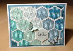 Six-Sided Sampler Hello by ange2k25 - Cards and Paper Crafts at Splitcoaststampers