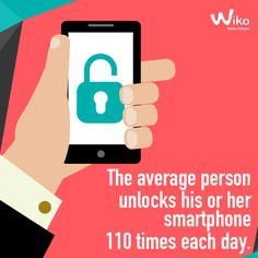 How many times have you checked your #Smartphone today? #WikoFacts
