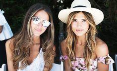 Sommerlicher Haar-Trend: Feine Strähnchen in den vorderen Haaren und Spitzen sorgen für einen natürlichen Beach-Look.