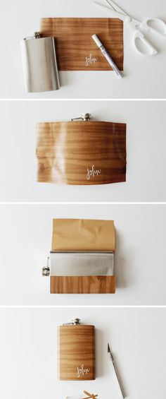 how to make a wood grain flask | almost makes perfect